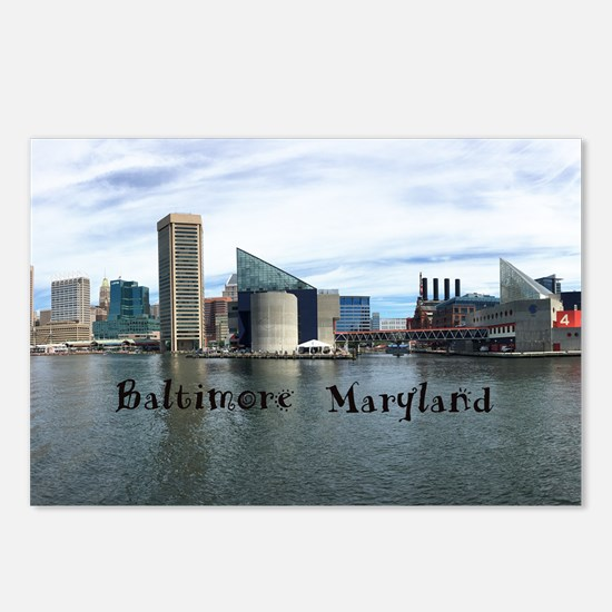 Baltimore Postcards (Package of 8)