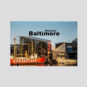 Baltimore Rectangle Magnet
