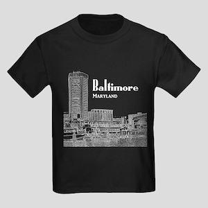 Baltimore Kids Dark T-Shirt