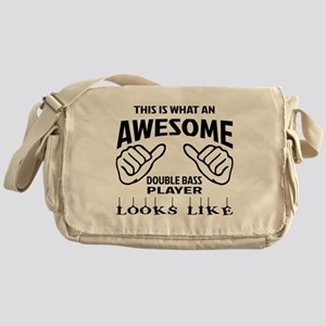 This is what an awesome Double Bass Messenger Bag