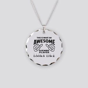 This is what an awesome djem Necklace Circle Charm