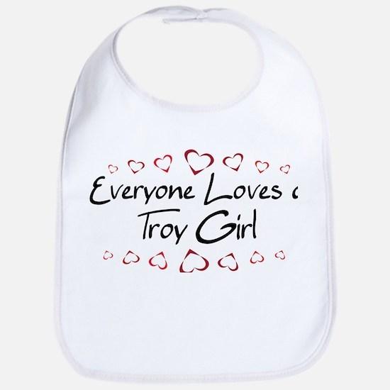 Troy Girl Bib