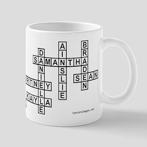 GIGI CROSSWORD/SCRABBLE Mugs