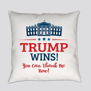 Trump Wins Everyday Pillow