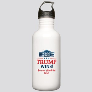 Trump Wins Stainless Water Bottle 1.0L