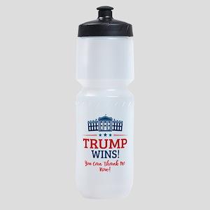 Trump Wins Sports Bottle