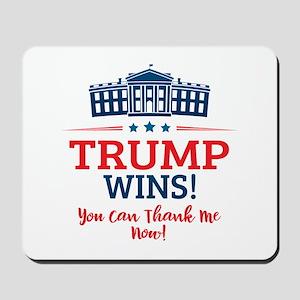 Trump Wins Mousepad