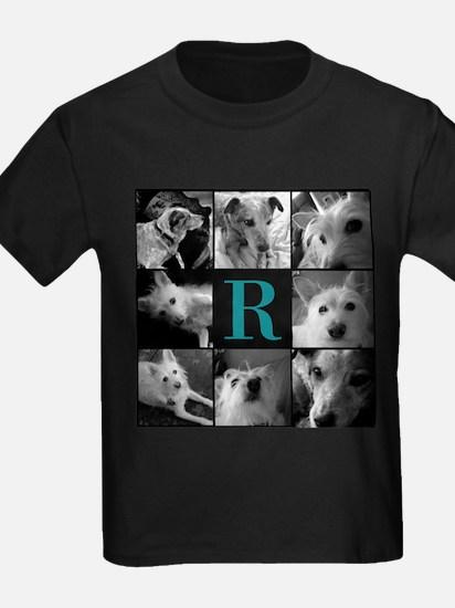Elegant Monogram Photoblock T-Shirt