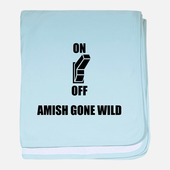Amish Gone Wild baby blanket