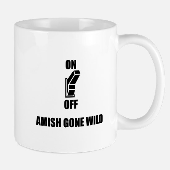 Amish Gone Wild Mugs