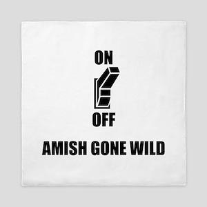 Amish Gone Wild Queen Duvet