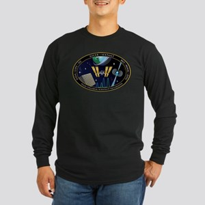NICER SEXTANT Logo Long Sleeve Dark T-Shirt
