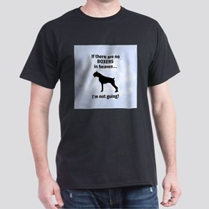 Boxers In Heaven Dark T-Shirt