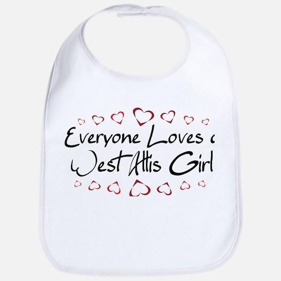 West Allis Girl Bib