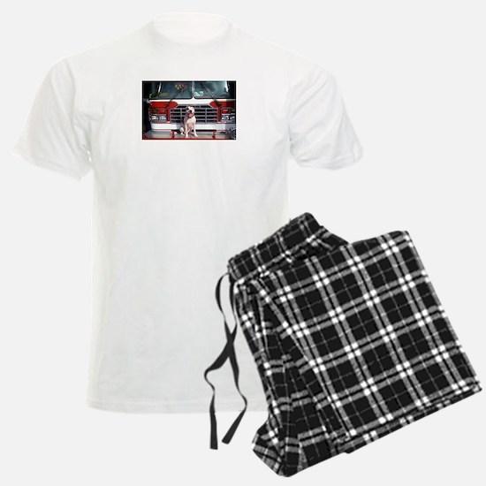 Pit Bull T-Bone Fire House Dog Pajamas