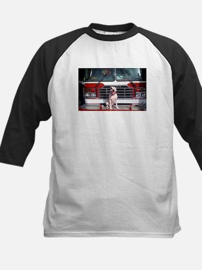 Pit Bull T-Bone Fire House Dog Baseball Jersey