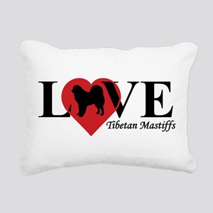 TIBETAN MASTIFF Rectangular Canvas Pillow