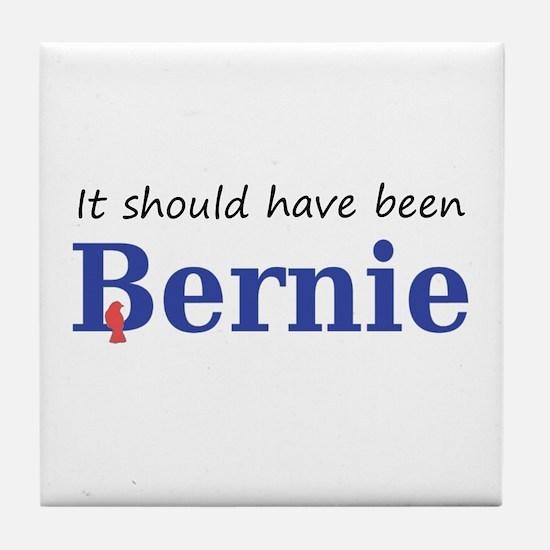 It should have been Bernie Tile Coaster