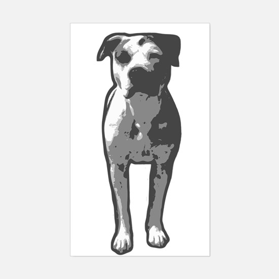Pit Bull T-Bone Graphic Decal