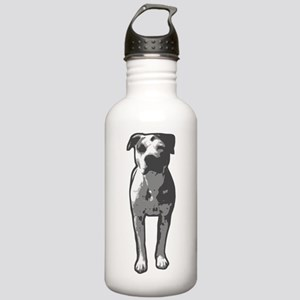 Pit Bull T-Bone Graphic Water Bottle
