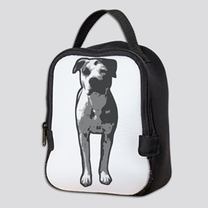 Pit Bull T-Bone Graphic Neoprene Lunch Bag