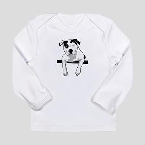 Pit Bull T-Bone Graphic Long Sleeve T-Shirt