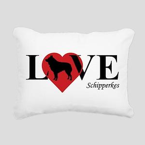 SCHIPPERKE Rectangular Canvas Pillow