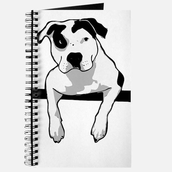 Pit Bull T-Bone Graphic Journal