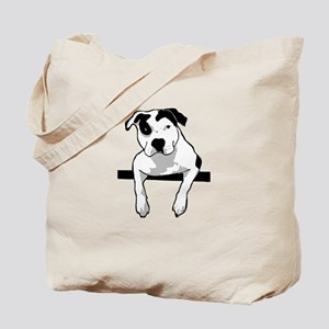 Pit Bull T-Bone Graphic Tote Bag