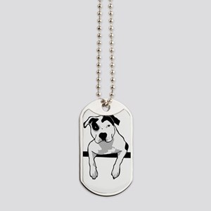 Pit Bull T-Bone Graphic Dog Tags