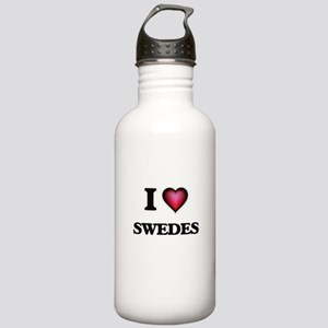 I love Swedes Stainless Water Bottle 1.0L