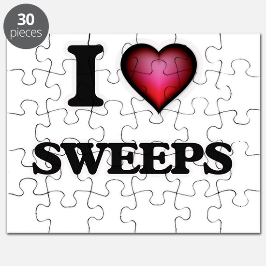I love Sweeps Puzzle