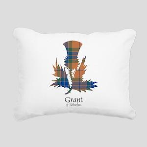 Thistle - Grant of Edinchat Rectangular Canvas Pil