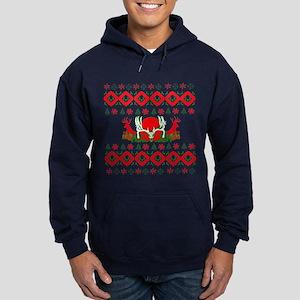 Christmas hunter Hoodie (dark)