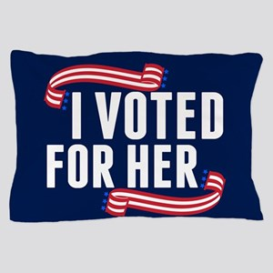 Voted Hillary Pillow Case