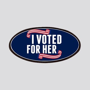 Voted Hillary Patch