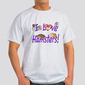 I Love Hamsters #01 T-Shirt