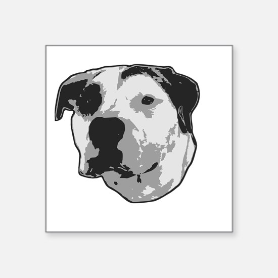 Pit Bull T-Bone Graphic Sticker