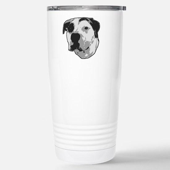 Pit Bull T-Bone Graphic Travel Mug