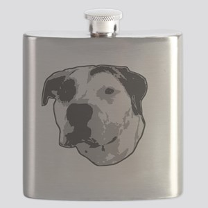 Pit Bull T-Bone Graphic Flask