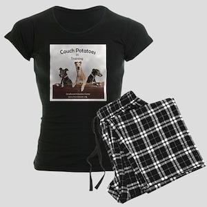 Couch Potatoes Women's Dark Pajamas