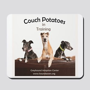 Couch Potatoes Mousepad