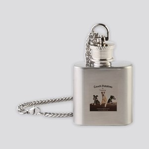 Couch Potatoes Flask Necklace