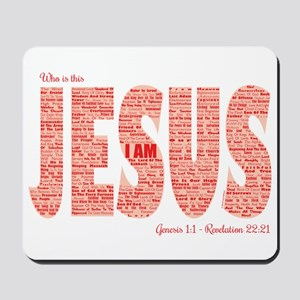 Who Is This Jesus Mousepad