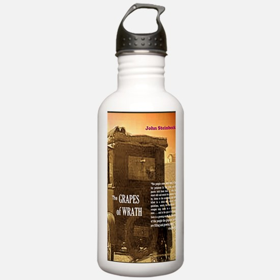The Grapes of Wrath Sports Water Bottle