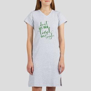 TINSEL TANGLE Women's Nightshirt