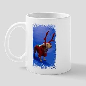 reindeer dog Mug