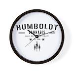 Humboldt Cannabis Wall Clock
