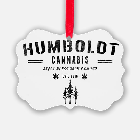 Humboldt Cannabis Ornament