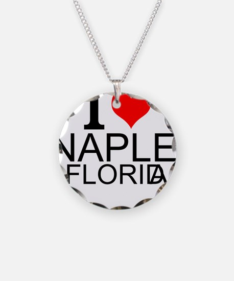 I Love Naples, Florida Necklace